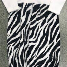 Zebra Print Gown