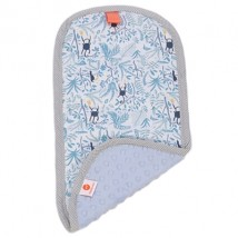 George Blue Burp Cloth