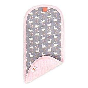 Hannah Light Pink Burp Cloth