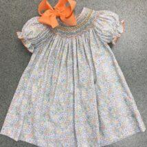 Olivia Smocked Dress
