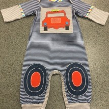 Boy's Car Romper