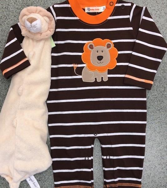 08d7c1a70 Baby Luigi- Lion Romper
