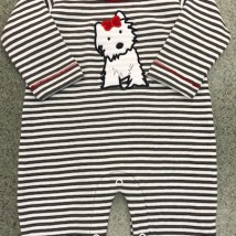 Scottie Dog Romper