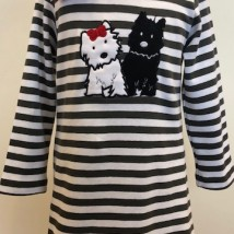 Scottie Dog Top