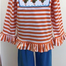 Turkey Smocked Pant Set
