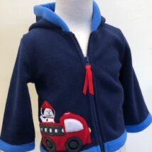 Firetruck Puppy Coat