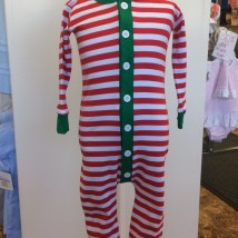 Holly Jolly Stripe Jammies Front