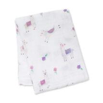 Llama Cotton Blanket