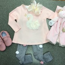 Swan Tunic Set
