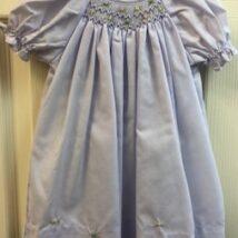 Lavender Smocked Day Dress