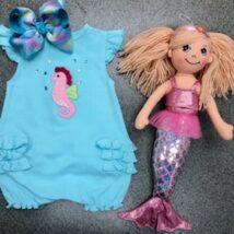 Girl's Seahorse Bubble