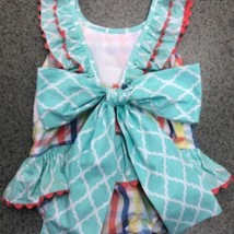 Sailboat Smocked Swimsuit 2