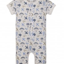 Air Transport Henley Romper
