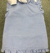 Blue Gingham Bloomer Set