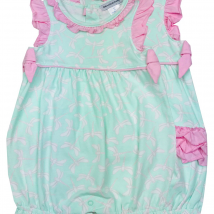 Green & Pink Dragonfly Romper
