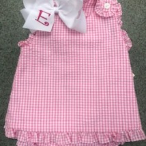 Hot Pink Gingham Bloomer Set
