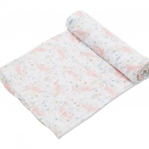 Narwhal Garden Swaddle