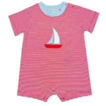 Sailboat Boy's Romper