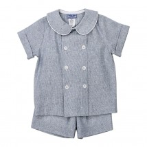 Windsong Linen Dressy Short Set