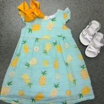 Pineapple Sundress & Diaper Cover