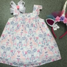 Unicorn Sundress & Diaper Cover