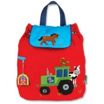 Boy Farm Tractor Backpack