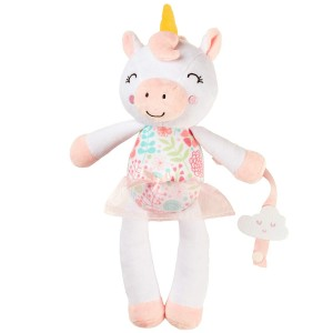 Unicorn Plush w paci clip