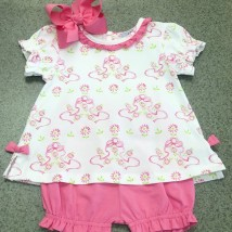 Bow Bloomer Set