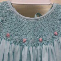 Mint Smocked Dress 2