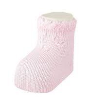 Pink Cuff Socks
