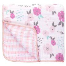 Flower Stroller Blanket
