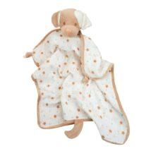 Auggie Tan Puppy Blanket Lovie