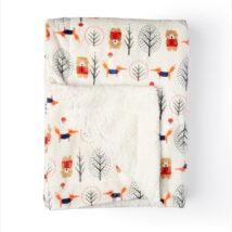 Bear Sherpa Blanket