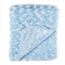 Blue Rosebud Blanket 2