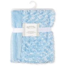 Blue Rosebud Blanket