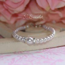 Crystal Pearl Bracelet 1