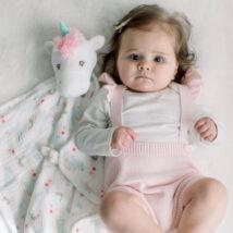 Emilie Unicorn Blanket Lovie 2