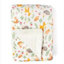 Fawn Sherpa Blanket