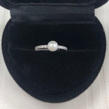 Pearl Baby Ring