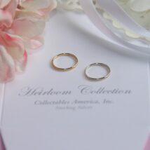 Rhodium Baby Ring