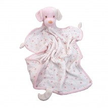 Rosy Cream Puppy Blanket Lovie